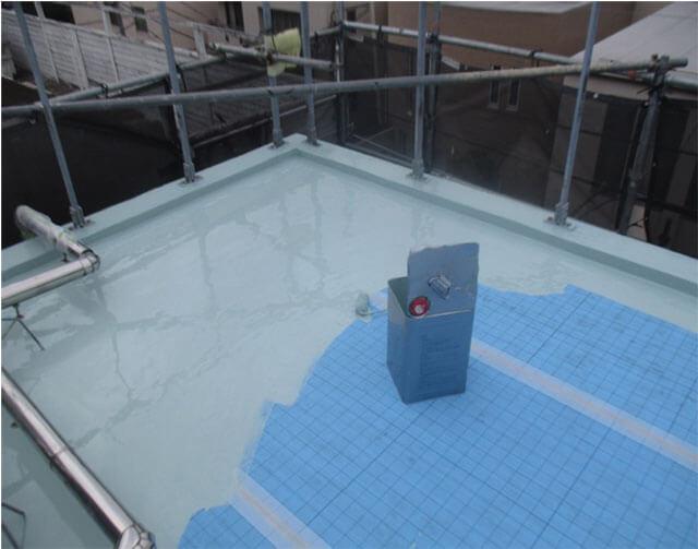 ウレタン防水 一層目