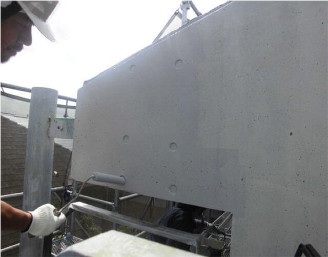 セラミクリートプライマー塗布