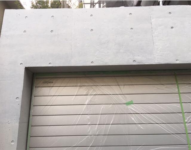 セラミクリートフレッシュ塗布