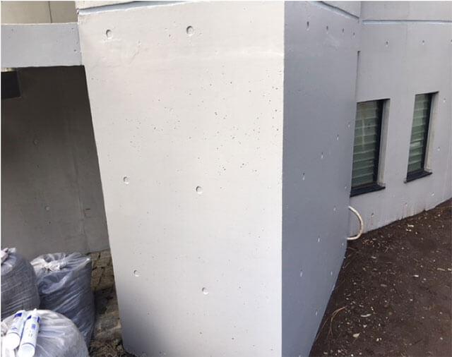 セラミクリートF塗布 2回塗り