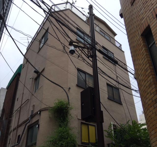 東京港区Nマンション外壁防水工事
