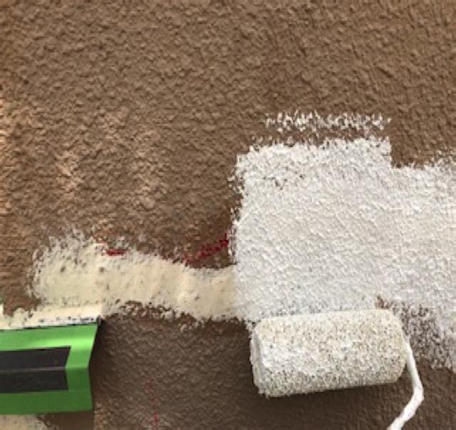 東京港区Nマンション外壁防水工事 補修箇所のパターン出し