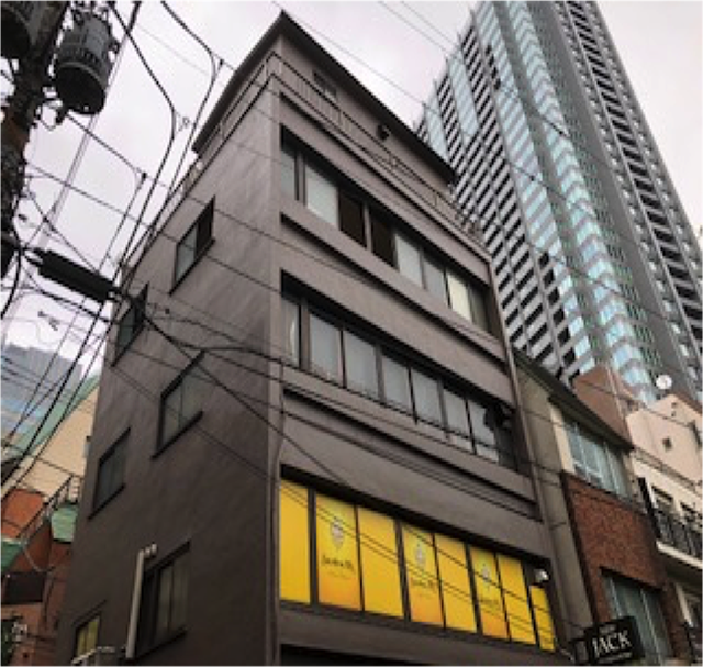 東京港区Nマンション外壁防水工事 足場解体後