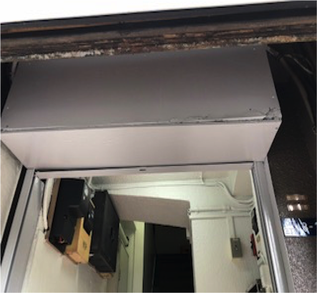 東京港区Nマンション外壁防水工事 1F 施工完了