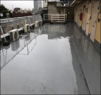 屋上 施工前 錆び 雨漏り