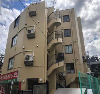 目黒区 Kマンション 改修工事 外壁防水 屋上 塗装